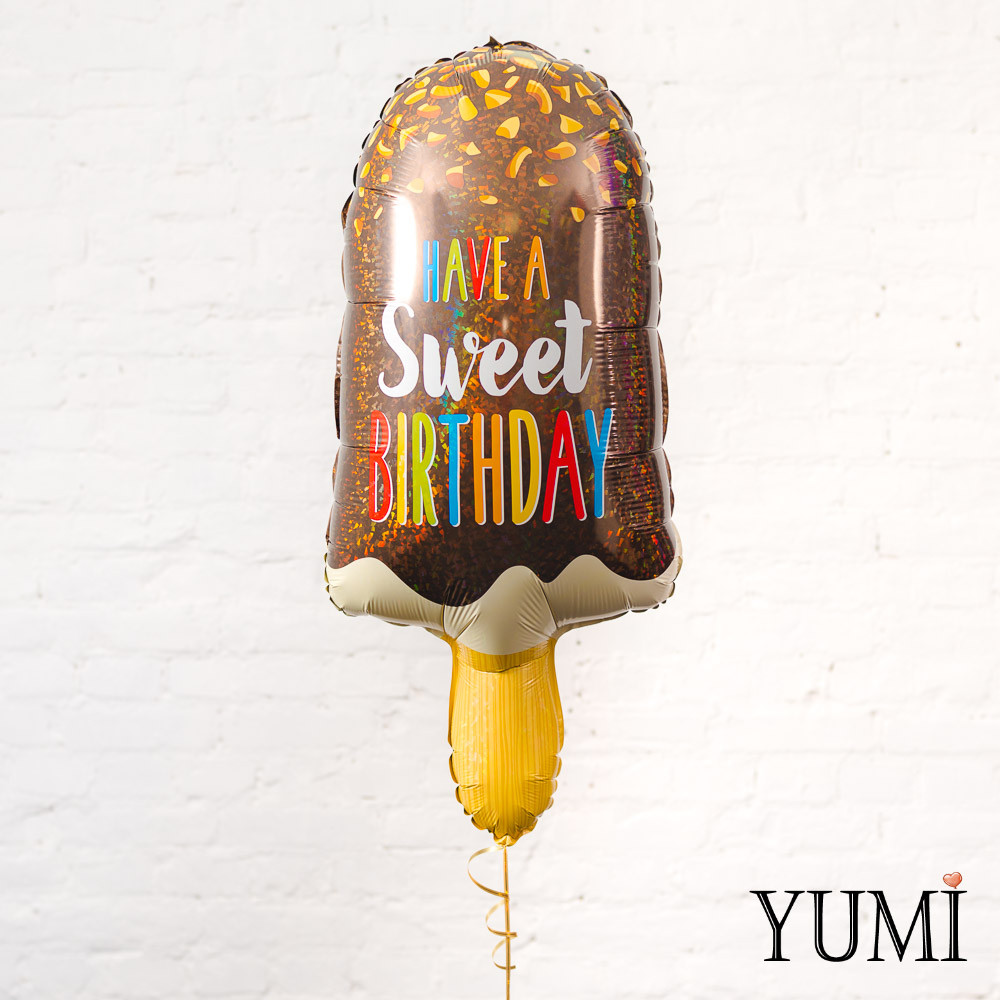 Фольгированный шарик на День Рождения Мороженое