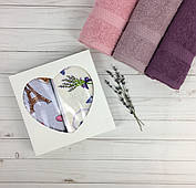 Подарочный набор вафельных полотенец