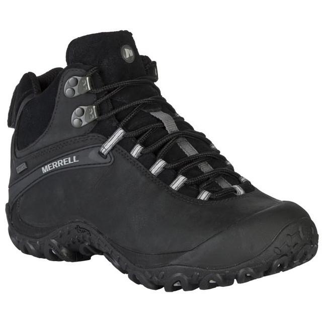 Ботинки Merrell chameleon 4 mid waterproof  black