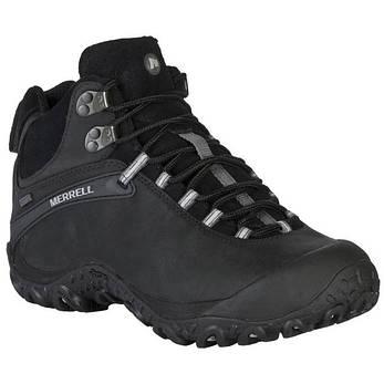 Ботинки Merrell chameleon 4 mid waterproof  black, фото 2