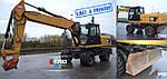 Уже в пути! Колесный экскаватор CAT 322 D 2011 год выпуска. Следует в Украину из Англии для нашего клиента.