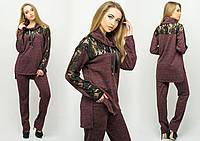 Спортивный костюм Надин бордо