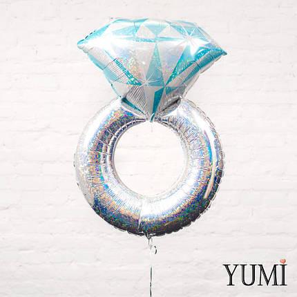 Обручальное кольцо серебро, фото 2