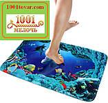 Набор из 2-х ковриков с 3D печатью в ванную 80х50 см. и туалет 40х50 см., фото 9