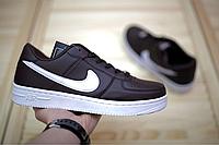 Мужские кроссовки Nike Air Force 1 Brown