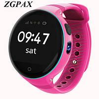 Детские умные водонепроницаемые часы Smart Watch S668 Pink ip54 (1-Micro-SIM) 600 мАч