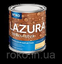 Лак морилка Rokolazur Natur Thix (3.0 л), производство Чехия