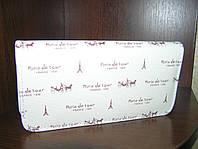 Кошелек-клатч женский Париж 20,5х11х3 см. Кремовый
