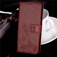 Чехол Clover для Lenovo A7000 / K3 Note / K50 книжка кожа PU коричневый, фото 1