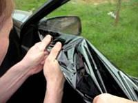 Снятие тонировки со стекол автомобиля