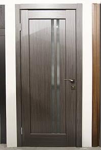 Дверь межкомнатная ДЕЛЛИТА СО СТЕКЛОМ САТИН
