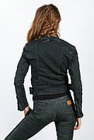 Куртка женская косуха 889K001 (Графит)