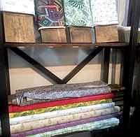 Печать на ткани в рулоне и в крое натуральные ткани и синтетика