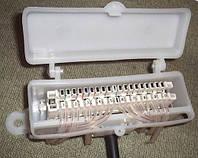 Коробка распределительная телефонная КРТЕ-10Н с 10-парным размыкаемым плинтом типа LSA-Plus Krone