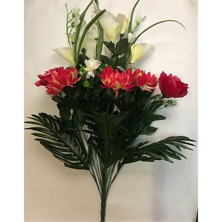 Искусственные цветы. Искусственный букет-композиция., фото 2