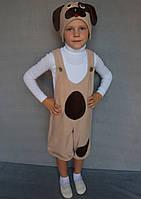 Карнавальный костюм Собачка №1 (бежевый), фото 1