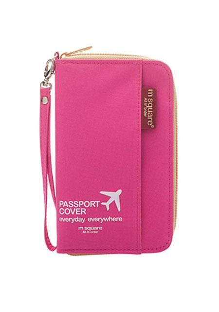 Компактный органайзер для документов (розовый)