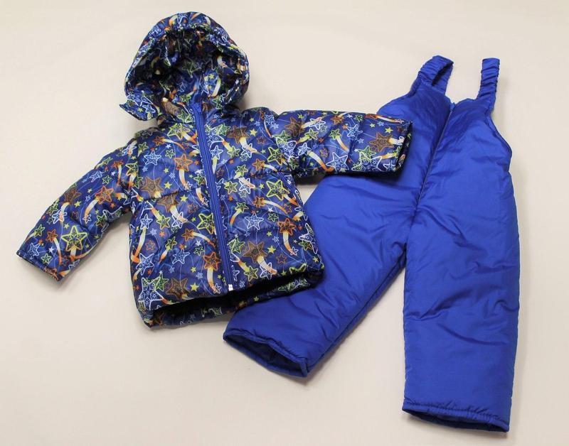 Детский зимний костюм двойка Синяя Звезда