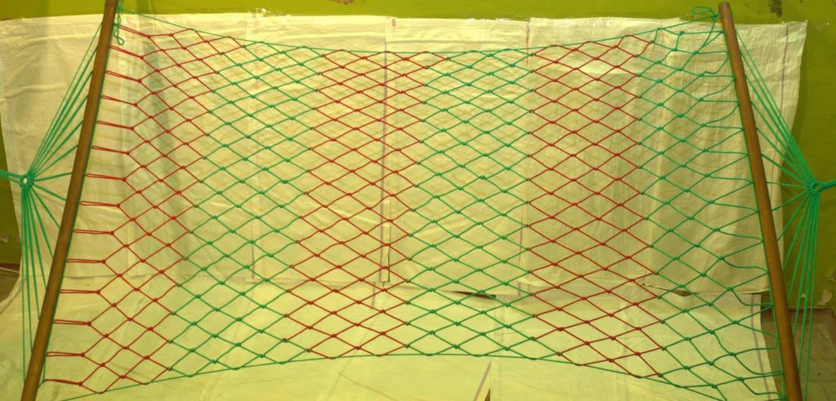 Гамак  сетка двухместный Премиум чехол в подарок, фото 2