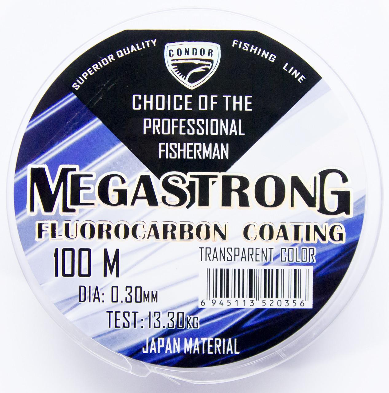 Леска Condor MegaStrong Fluorocarbon Coating 100m 0.40mm