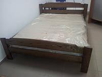 Кровать Эдель из цельного дуба