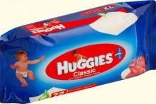Влажные салфетки HUGGIES® Classic