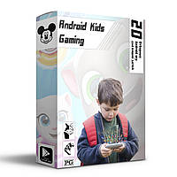 ☀Пакет игр Kids Gaming для смартфона планшета на Android детские развивающие аркадные