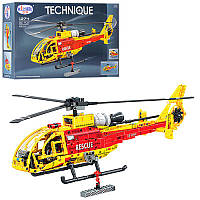 Конструктор Lego 1274 вертолет, 53 см, 1:20 см, 660 деталей