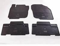 """Резиновые автоковрики """"Stingray"""" для Toyota RAV 4 с 2006-2012"""