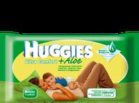 Влажные салфетки HUGGIES ® Ultra Comfort