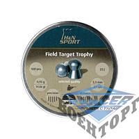 Пневматические пули HNatermann Field Target Trophy, 0,56 Kal. 4,52 mm