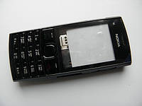 Корпус Nokia X2-02 чёрный с клавиатурой class AAA