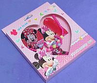 Набор детской бижутерии Минни Маус в коробке