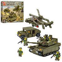 Конструктор SLUBAN M38-B0309 армия, военная техника, фигурки 5 шт
