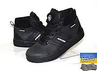 Кожаные демисезонные ботинки  38р.