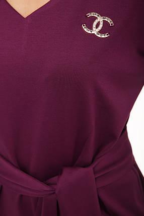 Стильное красивое платье из джерси шанель, фото 2