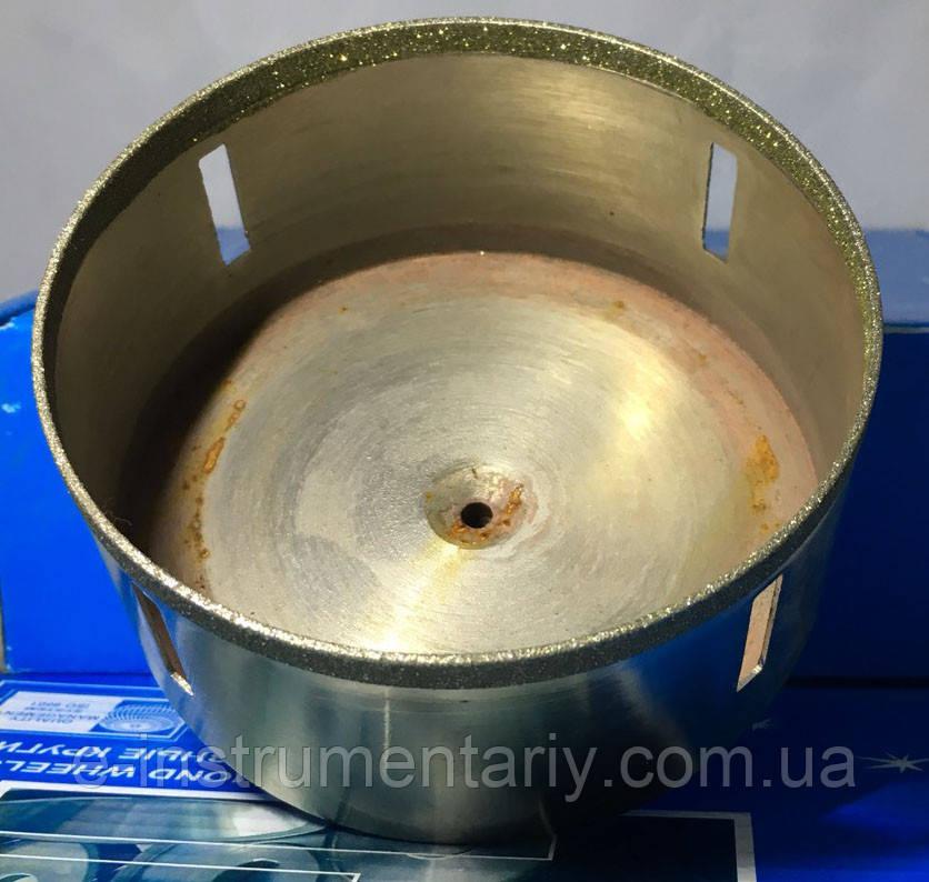 Алмазное сверло трубчатое 100мм