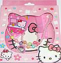 Набор детской бижутерии Китти в коробке  , фото 2
