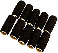 Нитка-резинка (10 катушек) черная