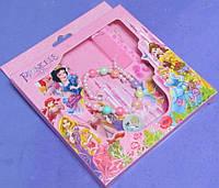 Набор детской бижутерии Принцессы Диснея в коробке