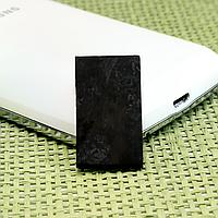 Шунгитовая пластина для мобильного телефона, 294ФГП