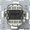 Выключатель 2-клавишный универсальный (механизм) 10АХ/250В Berker