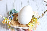 """Заготівля пінопластова """"Яйце"""" 22 см з двох половинок великодній декор, фото 1"""