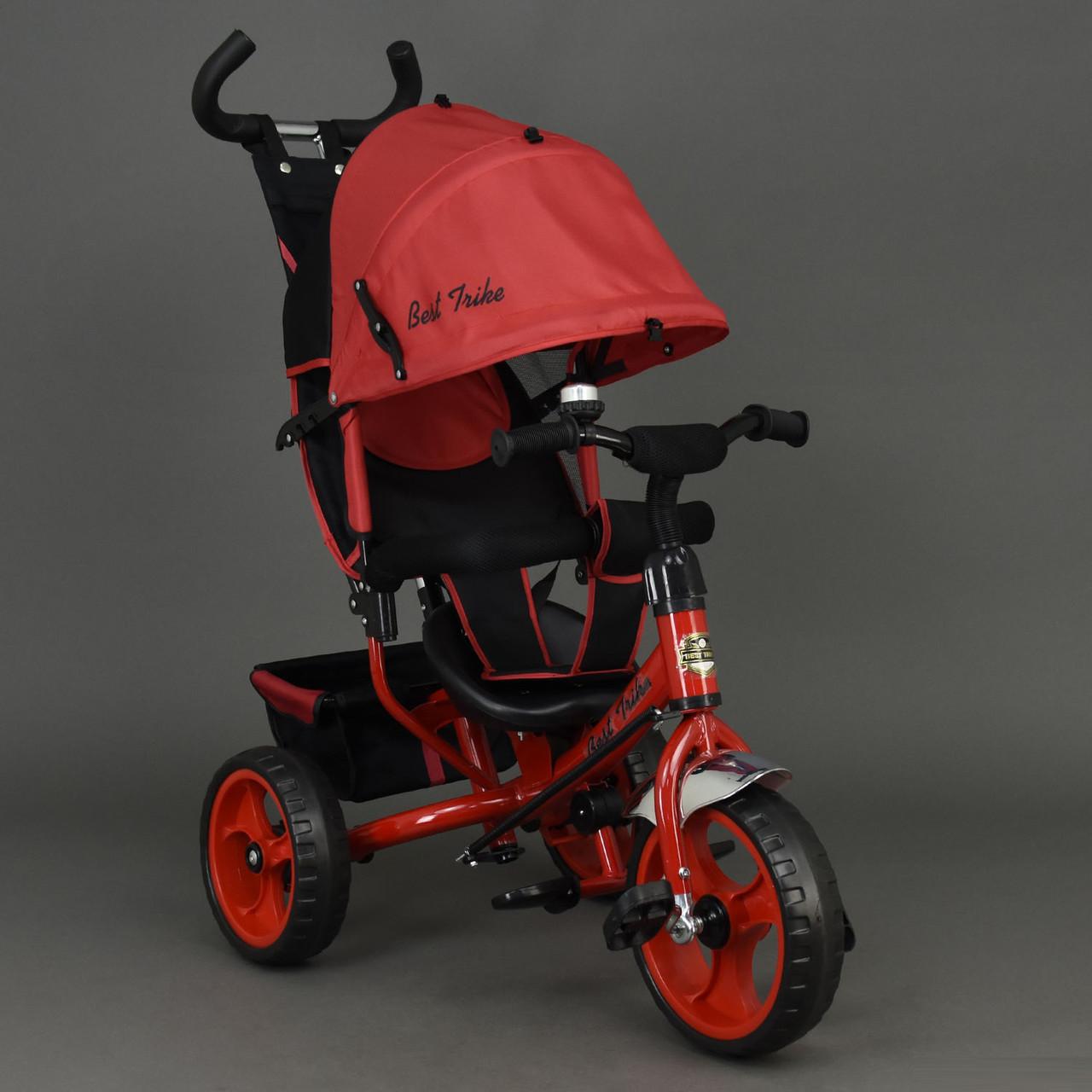 Детский трехколесный велосипед Best Trike 6570 красный (колеса пена)