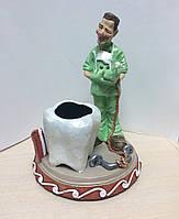 Статуэтка, подставка для ручек и визиток Стоматолог ручной работы