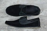 Мужские замшевые туфли мокасины , фото 1
