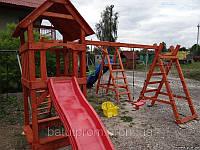 Детский игровой комплекс из дерева ПРОМО