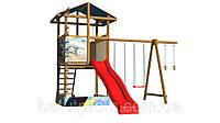 Детская деревянная площадка dp-008