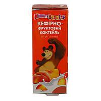 Кефирный напиток Маша и Медведь Персик-Злаки 1.9%, 207 г 127146 ТМ: Danone