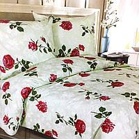 Комплект постельного белья евро размер 200/220, нав-ки 70/70, ткань сатин, 100% состоит из хлопка